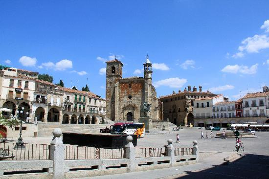 Trujillo, España: Plaza Mayor