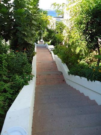 Rixos Premium Bodrum: 205 Steps in All and NO lift!!