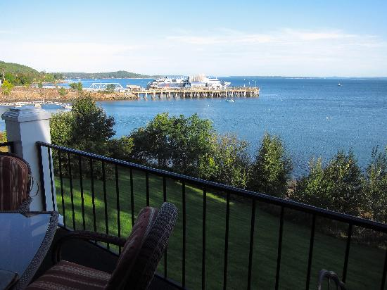 The Bayview: breakfast porch