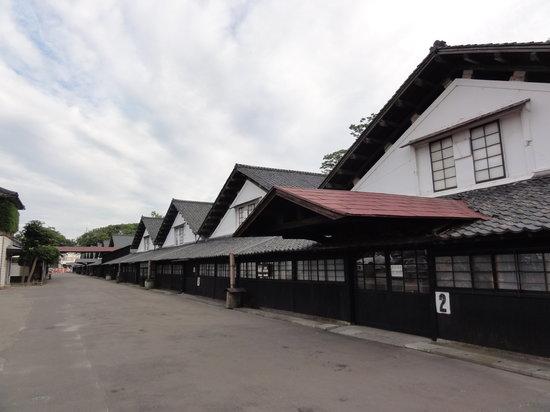 Sakata, Japan: 倉庫群