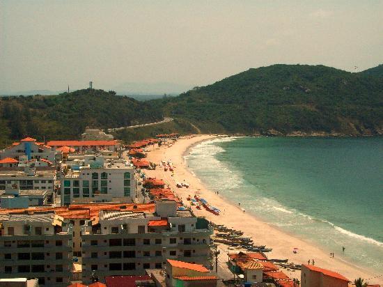 Arraial do Cabo, RJ: Panorámica de Prainha, playa paradisíaca.