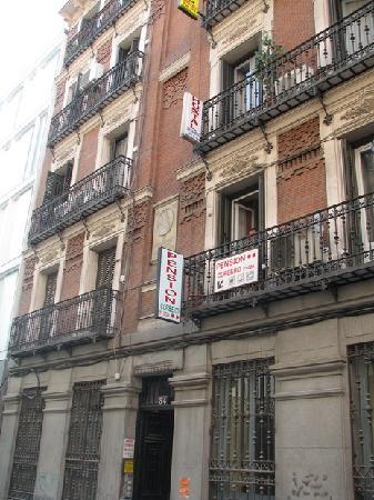 Pension Corbero: The building