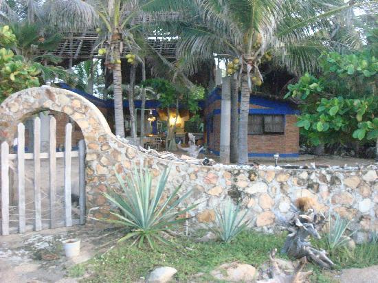 Meson Casa de Piedra: Acceso a la playa