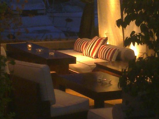 El Cafe de la Plata: Terraza Chill Out