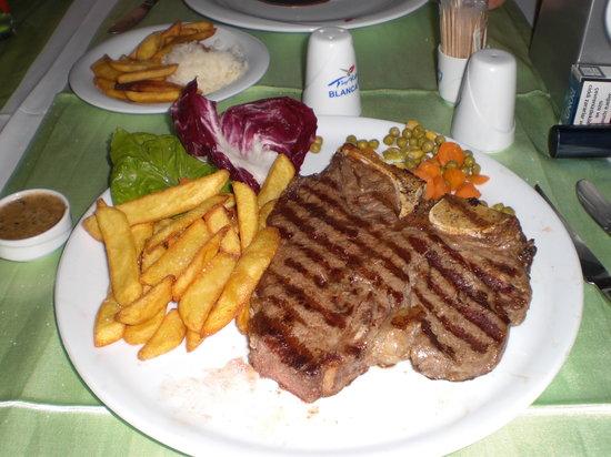 Blanca Restaurant: best t bone l have had