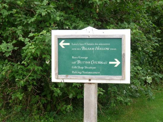 Green Gables: SIGN