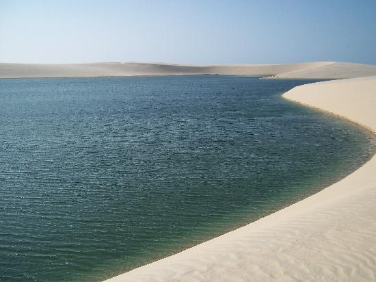 Barreirinhas, MA: lagoa verde -  atins
