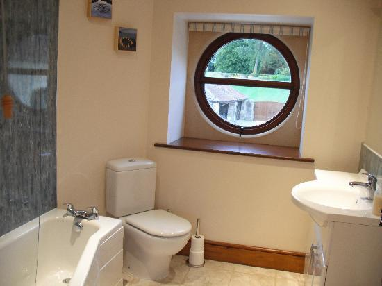 Cumberwell Country Cottages: Meadow en-suite, taken in September 2010
