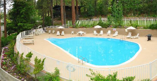 Pine Cone Resort: Seasonal heated swimming pool