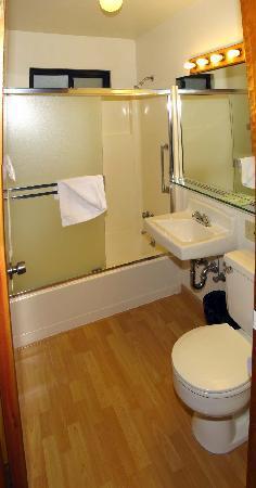 Pine Cone Resort: Building 5 bathroom
