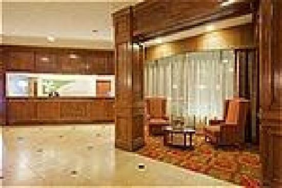 DoubleTree by Hilton Hotel Boston - Rockland: Holiday Inn Rockland Lobby