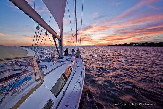 Charleston Sailing Charters: Sunset Sailing Charleston