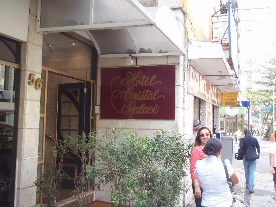 Hotel Cristal Palace: Entrada principal do Hotel