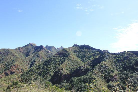 Jinshanling Great Wall: Jinshanling wall