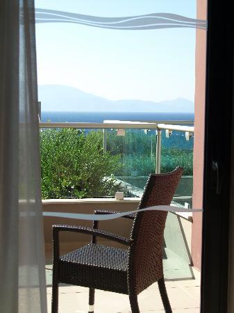Michelangelo Resort and Spa: Blick aus dem Zimmer auf Ägäis