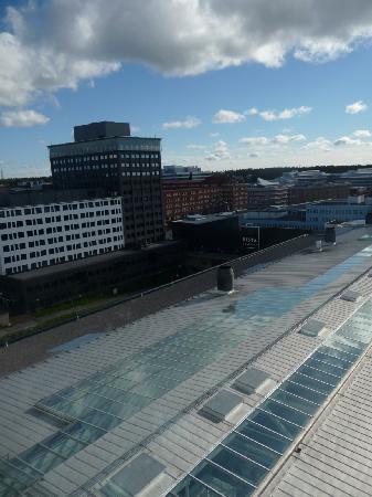 StayAt Stockholm Kista: vue depuis la chambre