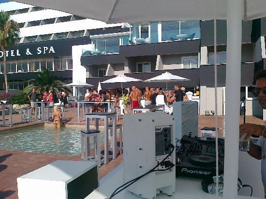 Sunset pool party picture of ibiza corso hotel spa - Corso hotel ibiza ...