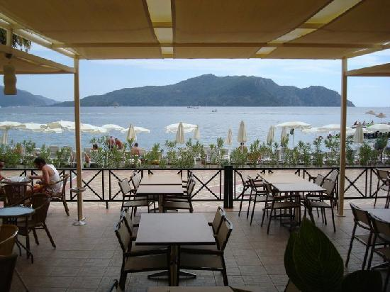 Ideal Prime Beach: View from the restaurant