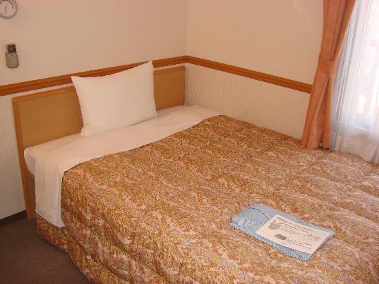 Toyoko Inn Osaka Nanba: Il letto