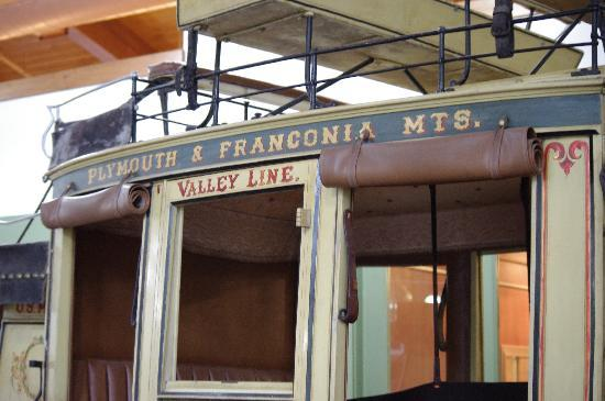 Franconia, NH: Stage Coach in the visitors center