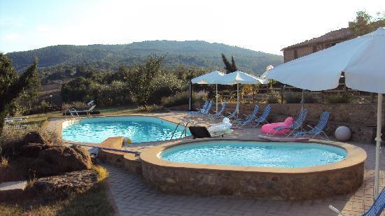 Agriturismo Apparita: La piscine