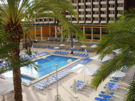 Servigroup Calypso: The Pool of the Hotel Calypso