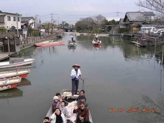 Kurashiki Bikan Historical Quarter: The canal...