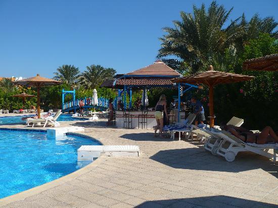 Movie Gate Golden Beach Hotel : le bar a une des piscines