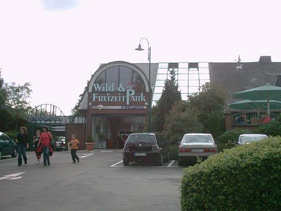 Wild- und Freizeitpark Klotten Cochem: Eingang Wildpark