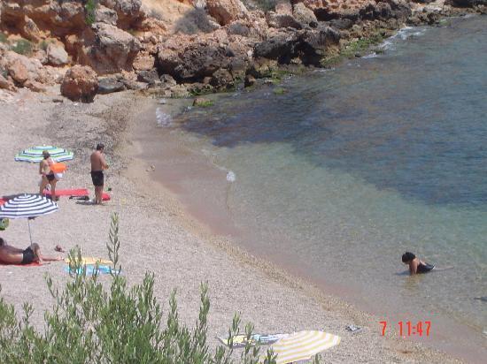 Ohtels Les Oliveres : Vue de la plage à proximité de l'hôtel