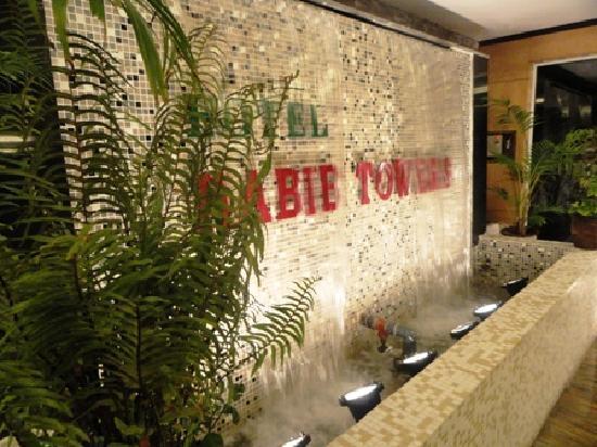Hotel Habib Towers: Lobby Fountain