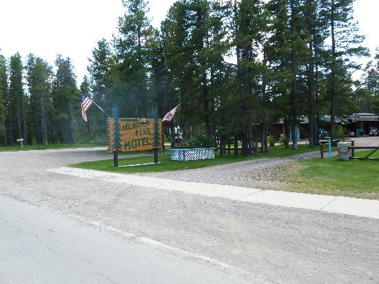 East Glacier Park, Монтана: Look for this sign
