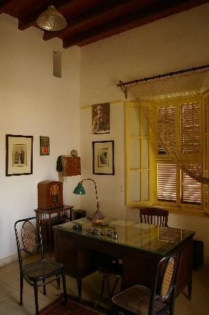 Howard Carter House: The Study