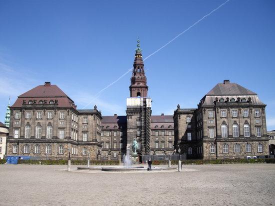 Schloss Christiansborg (Christiansborg Slot): クリスチャンスボー城