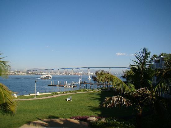 The bridge and bay