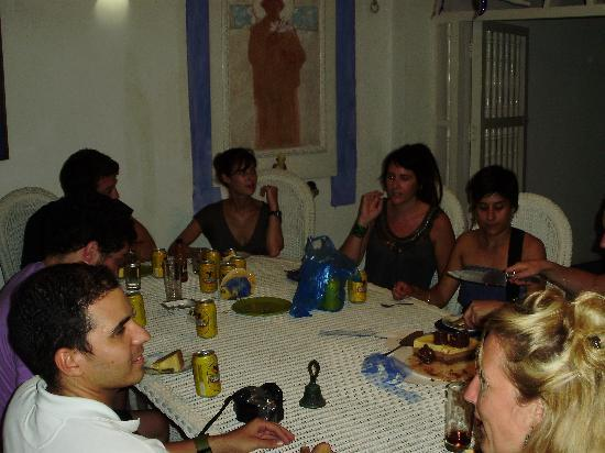 Casa de la Chicheria: Dinner with friends