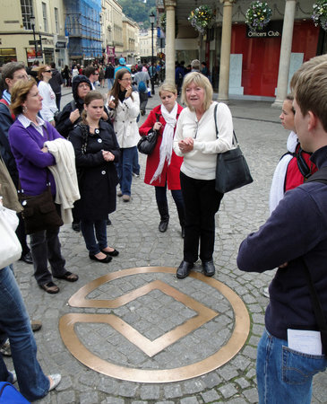 Mayor's Honorary Guides : Tour Guide at World Heritage Marker