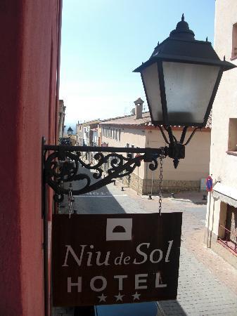 Niu de Sol - Hotel Rural: hôtel dans la rue principale