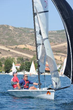 Hotel Club Phokaia: Sailing