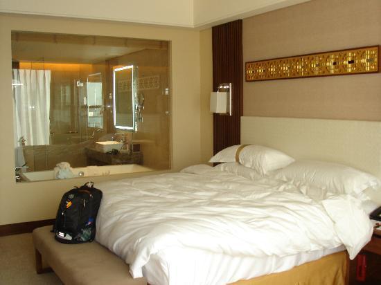 Datong Hotel: ゆったりとした広い部屋でくつろげる