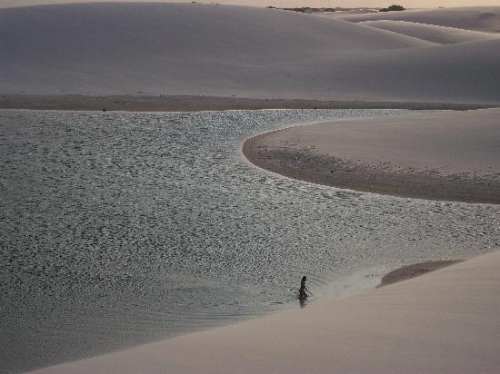 São Luís, MA: lagoa gaivota - santo amaro