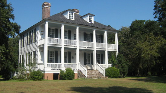 Hopsewee Plantation: The Plantation House