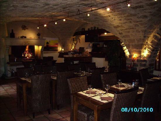 Restaurant Au Jeu De Paume : inside