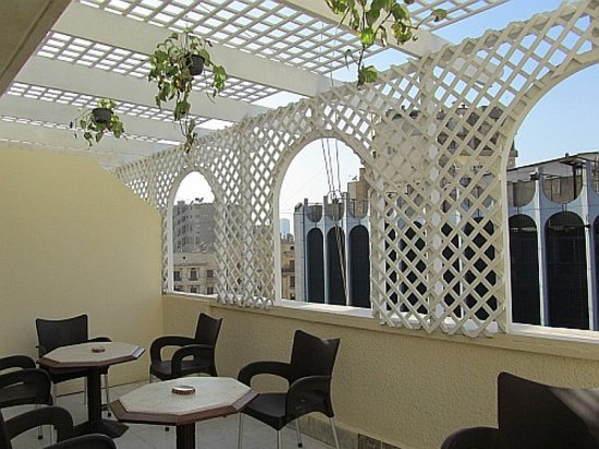 Cairo Moon Hotel : Balcony