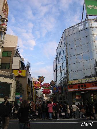 Shibuya, Japan: 竹下通り1