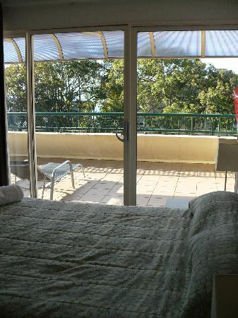 Saks On Hastings : 2nd floor queen room also with big balcony.