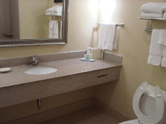 Comfort Suites: Sink