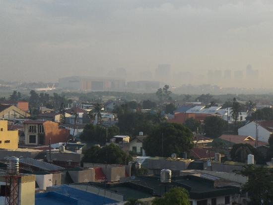 Paranaque, Filipinler: view from hotel window