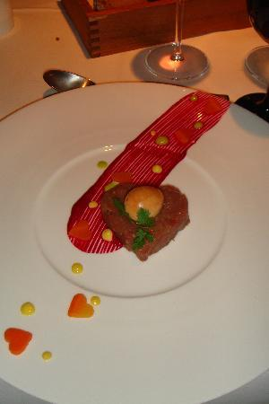 Hotel niXe Binz Restaurant: Tatar