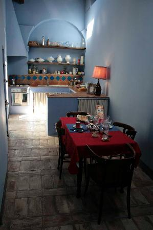 Palazzo Romani Adami: Kitchen